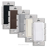 Lutron 3-Way Dimmer Rocker Switches with Preset Levers