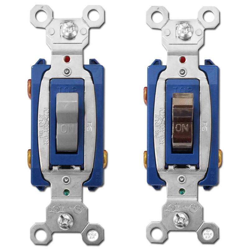 3 Way 15a Toggle Light Switches Pass  U0026 Seymour Ps15ac3