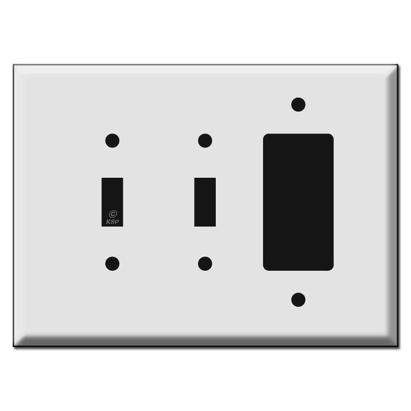 Oversized 2 Toggle Decora Switch Plate Spvv 84808135041462912801280c