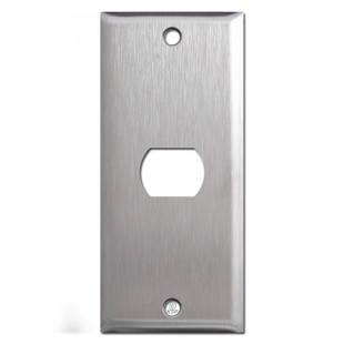 Spec Grade Stainless Steel Narrow Despard Light Switch Covers