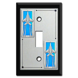 Fighter Jet Switch Plates