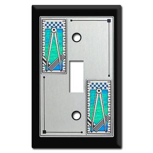 Mason Themed Switch Plate