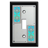 Crest Pattern Switch Plates