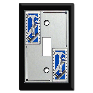 Tool Themed Switch Plates for the Garage