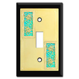Decorative Switch Plates with Hibiscus Flowers