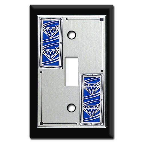 Diamond Pattern Artistic Switch Plates Kyle Switch Plates