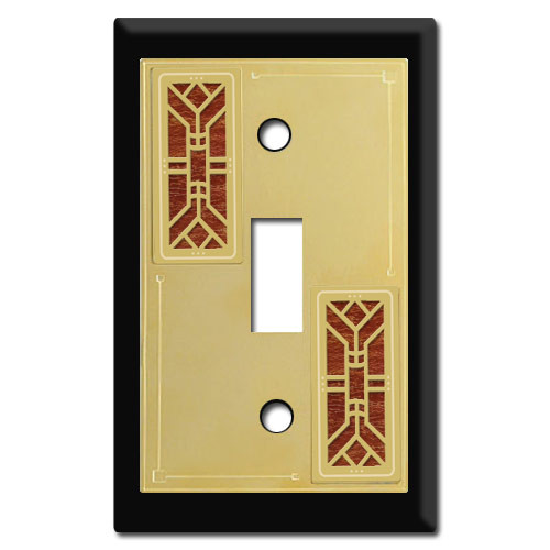 Arts & Crafts Decorative Switch Plates | Kyle Switch Plates
