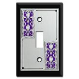 Decorative Fleur De Lis Switch Plate