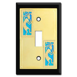 Switch Plate with Kokopelli Design