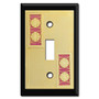 Decorative Switch Plates with Basketballs
