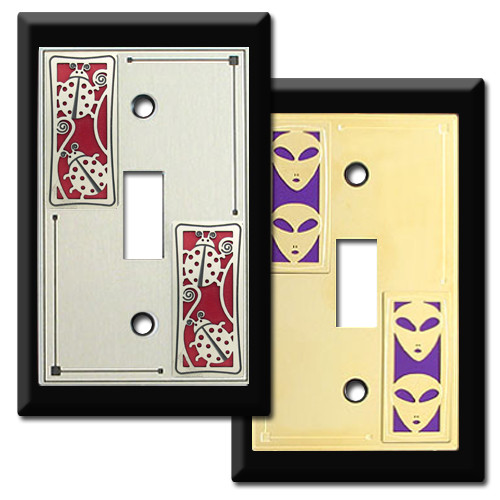 Designer Switchplates - 100\'s of Unique Decorative Patterns