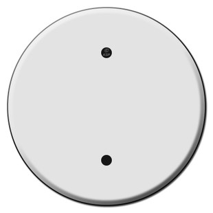 Round Ceiling Outlet Blank Switch Plate Covers For 3 25