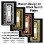 Add silver, brass, copper or gold Mission design