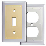 Classic Lines Chrome Switch Plates