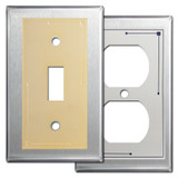 Classic Lines Decorative Stainless Steel Wall Plates