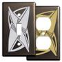 Bronze Decorative Retro Style Switch Plates