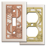 Sun, Moon & Stars Light Switch Plates