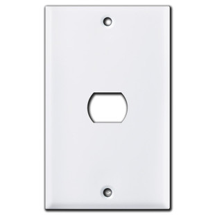 1 Despard Vertical Switch Cover Plate - White