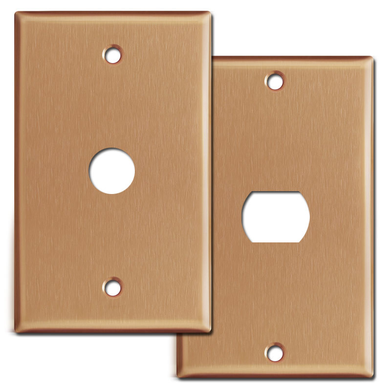 Brushed Copper Switch Plates U0026 Outlet Covers