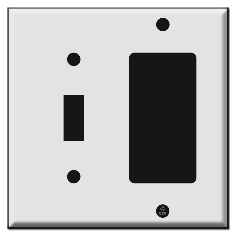Combination Switch Plates Outlet Covers In Hard To Find Sizes