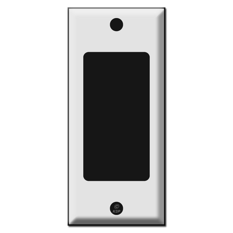 Narrow 2 one gfi decora rocker light switch plate covers publicscrutiny Images