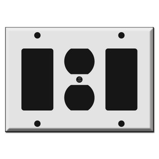 Decora Outlet Decora Combination 3 Gang Switch Plates