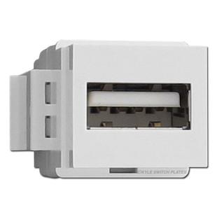 Leviton White USB Port for Walls