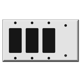 3 Decora Rocker 1 Blank Switch Plate Covers