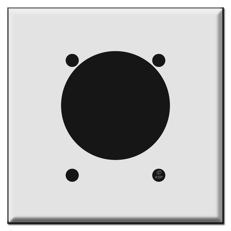 30A 50A or 60A Power Outlet Cover for Offset 2.275 Inch Wall Socket