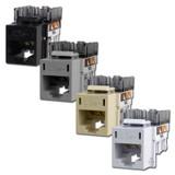 Hubbell Modular Frame Ethernet Jacks CAT5E