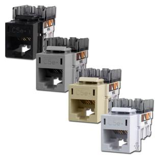 hubbell premise cat5e ethernet jack for modular frames hxj5e