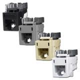 USOC Telephone Jacks for Hubbell Modular Frame - HXJU