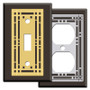 Brown Mission Switch Plates