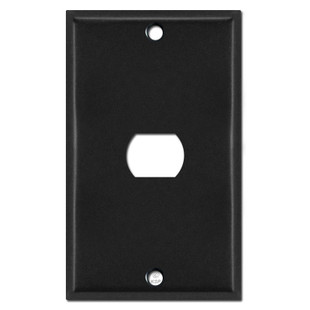 One Despard Wall Switch Plate Cover - Black