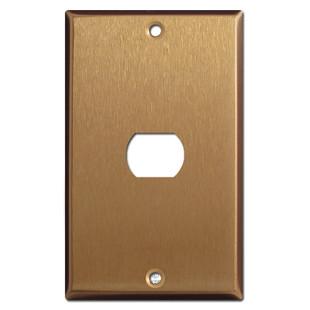 One Despard Switch Wallplate - Satin Bronze