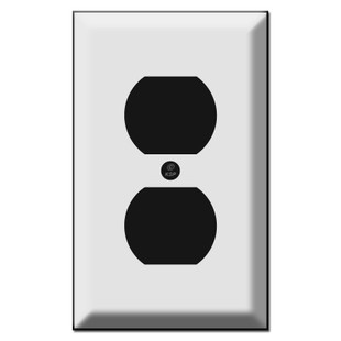 Deep Beveled Duplex Outlet Cover Wall Plates