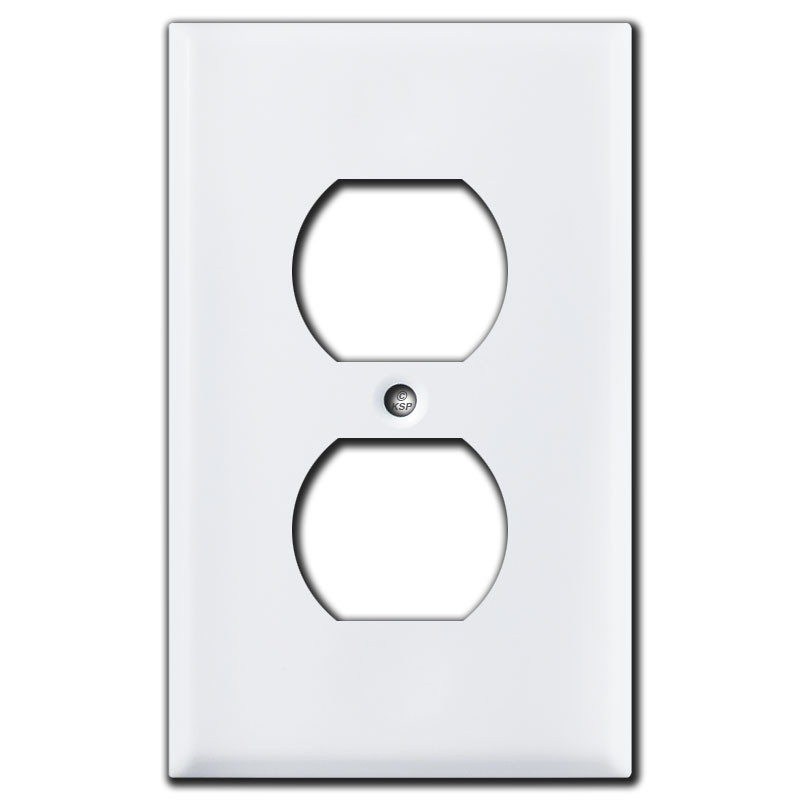1 Gang Single Toggle Light Switch Wall Plate Artwork Cover Home Improvement Electrical Supplies