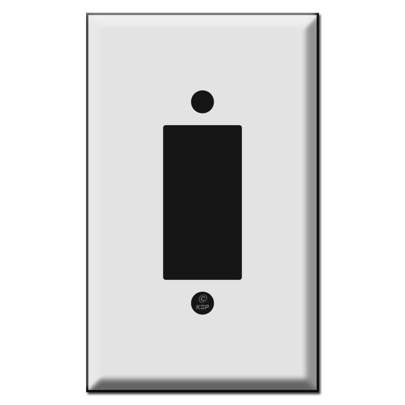 Old Style Replacement Leviton Centura Button Light Switch Plates