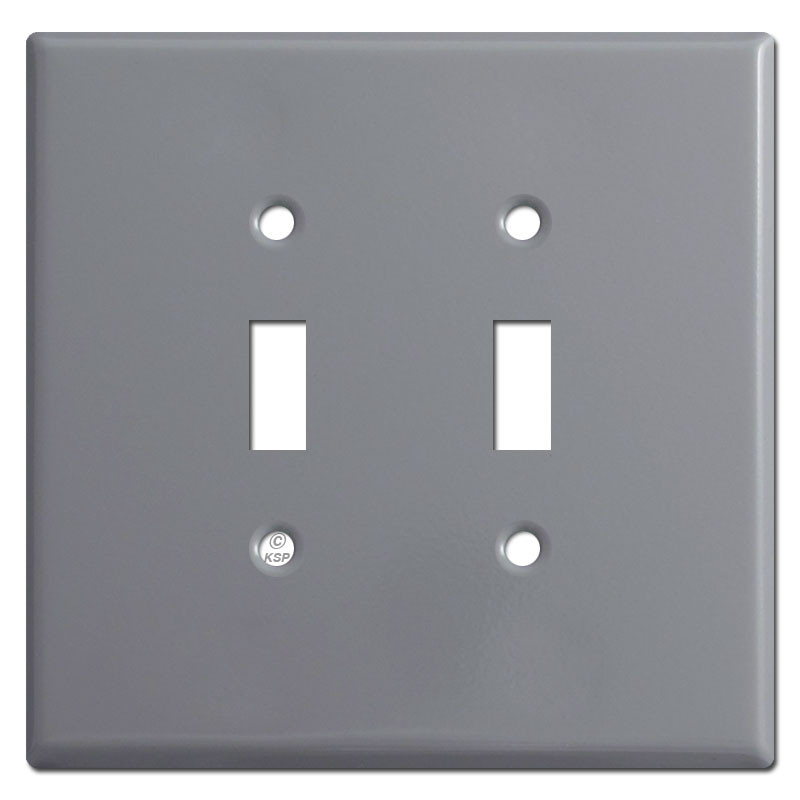 Oversized Light Switch Covers Amazing Double Toggle Light Switch Plates  Grey Design Ideas