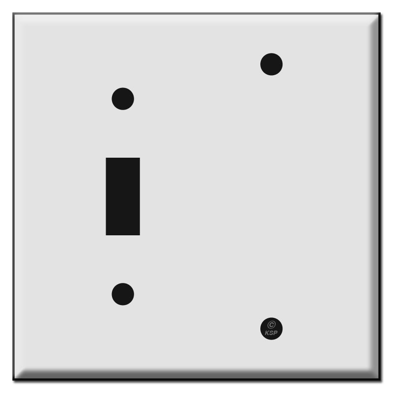 1 Toggle 1 Blank Wall Plate  32c5379d9
