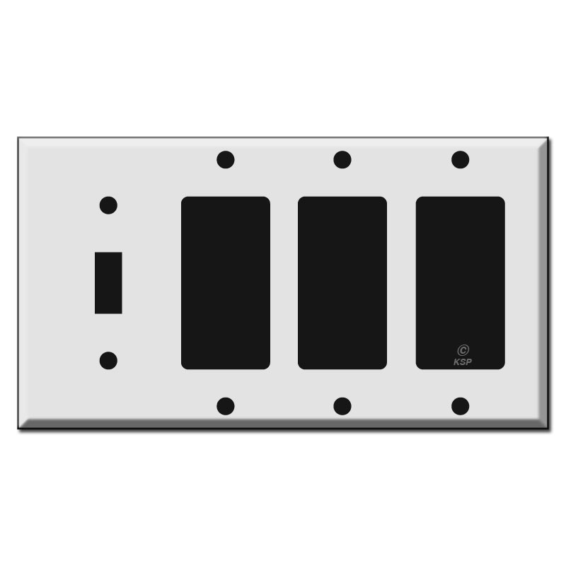 Single Toggle Triple Rocker Switch Plate Covers Kyle Switch Plates