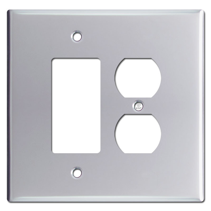 Metal Electrical Outlet Covers Oversized Outlet Covers: Oversized Rocker & Outlet Cover Switch Plates