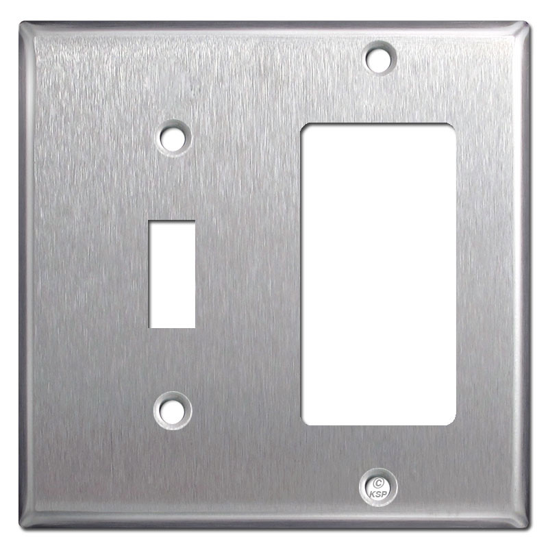 Toggle Amp Gfi Outlet Switchplate Cover Spec Grade