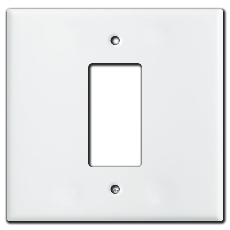 decora wall plates custom jumbo gang centered decora switch wall plate covers white