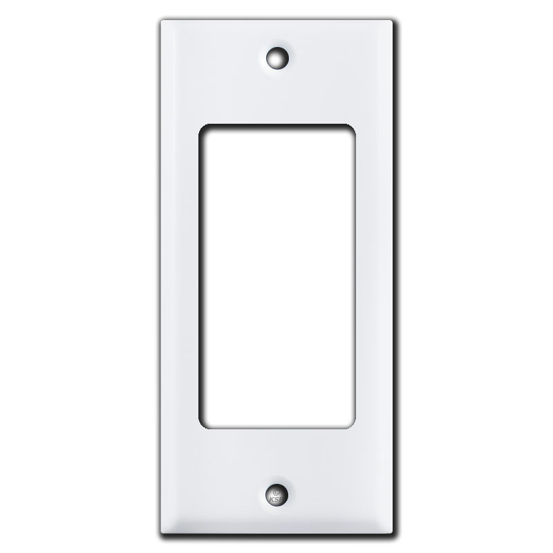 2 narrow 1 gfi decora rocker light switch plate covers for Decora light switches