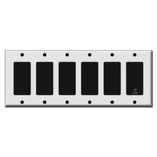 6 Rocker Switch Plate