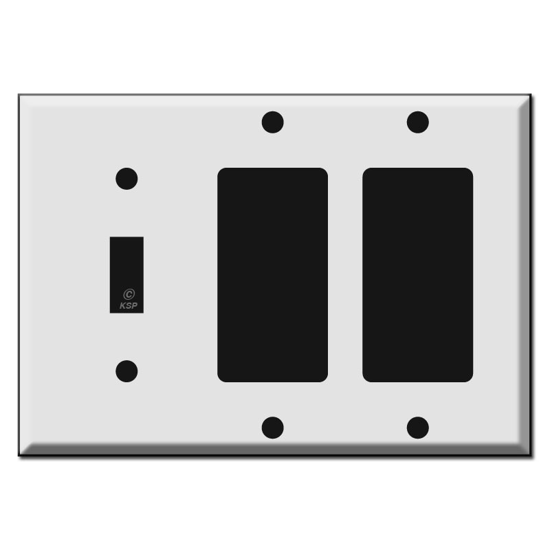 1 Toggle 2 Rocker Switch Plate Kyle Switch Plates