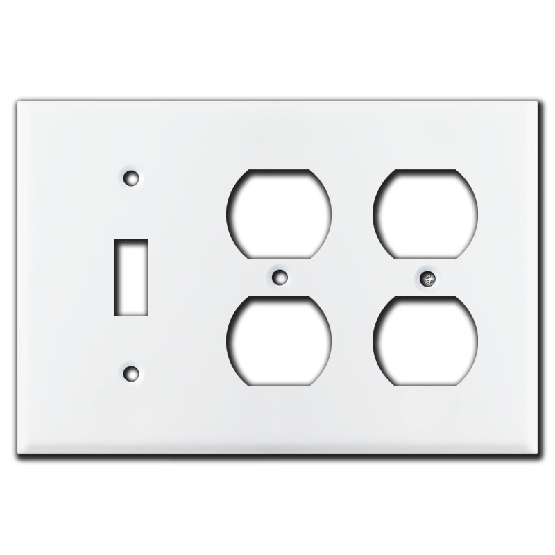 Combo 3 Gang 5 Vertical Horizontal Toggle Light Switch Plates