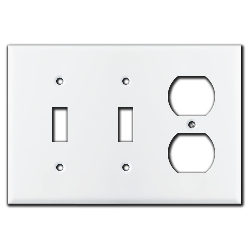 Combo 3 Gang 4 Up Down Sideways Toggle Light Switch Plates