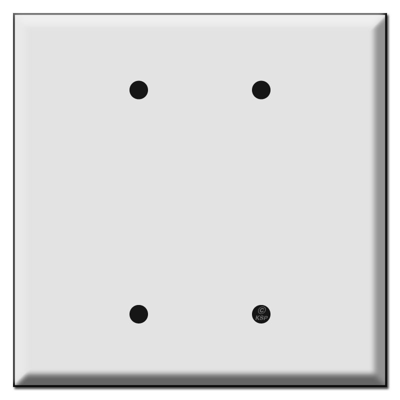 Jumbo Double Blank Switch Plate Covers Kyle Switch Plates